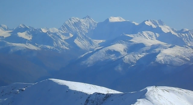 Катунский хребет - Горный Алтай