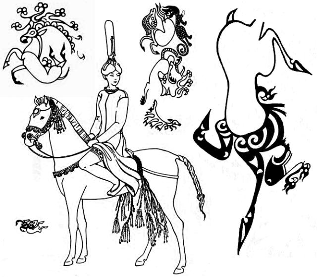 Татуировки Алтайской принцессы